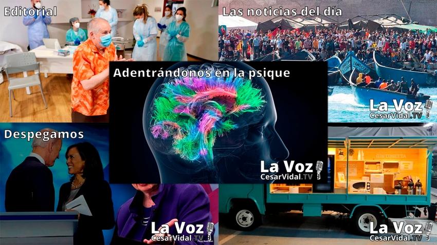 Programa Completo de La Voz de César Vidal - 20/01/21