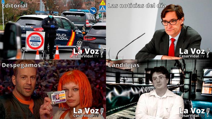 Programa Completo de La Voz de César Vidal - 22/01/21