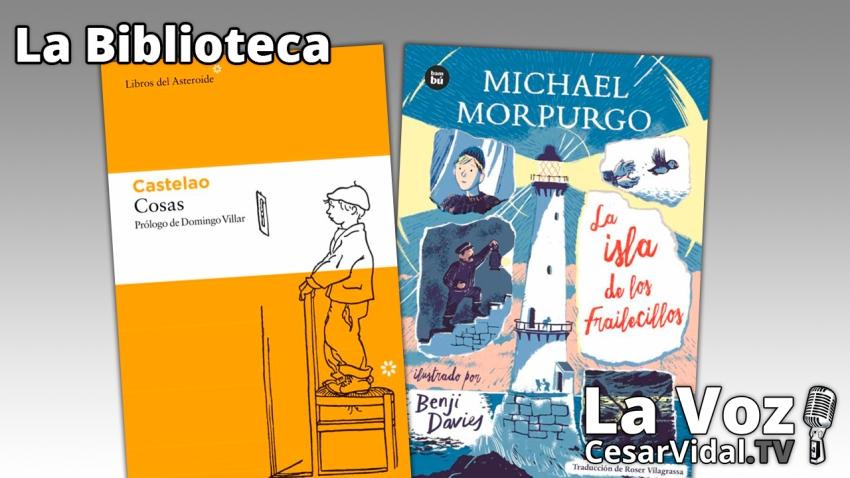 """La Biblioteca: """"Cosas"""" y """"La isla de los frailecillos"""" - 14/10/21"""