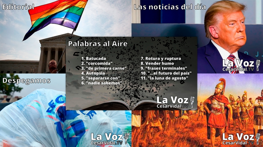 Programa Completo de La Voz de César Vidal - 23/11/20