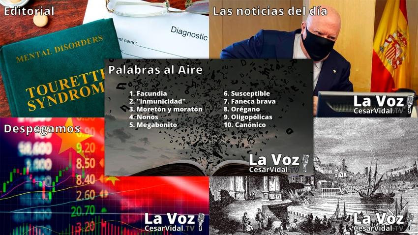 Programa Completo de La Voz de César Vidal - 07/06/21