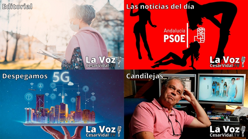 Programa Completo de La Voz de César Vidal - 07/05/21
