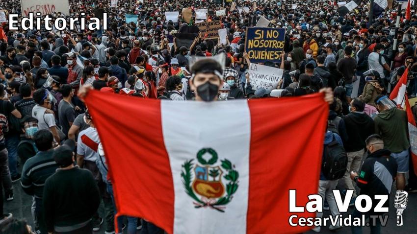 Editorial: Perú hacia el abismo - 17/11/20