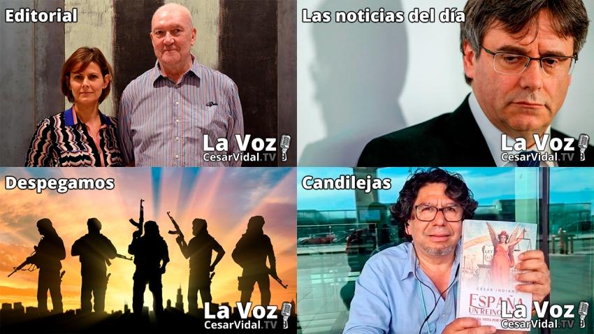 Programa Completo de La Voz de César Vidal - 24/09/21