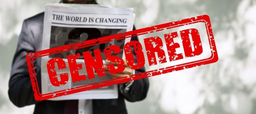 A la censura que le vayan dando