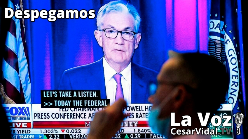 Despegamos: Powell (FED) pincha el globo, Europa se enfría y la gran mentira del PIB español - 23/09/21