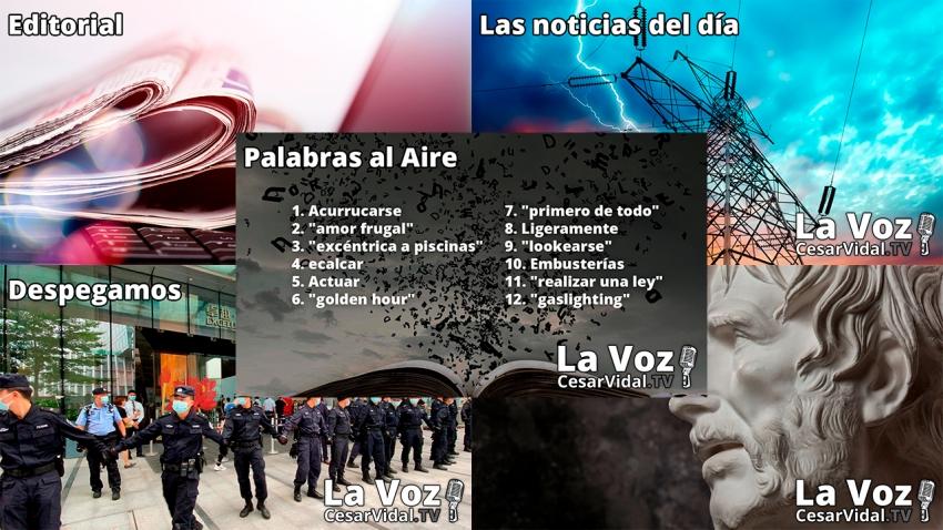 Programa Completo de La Voz de César Vidal - 20/09/21