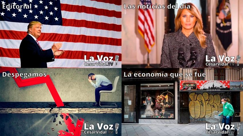 Programa Completo de La Voz de César Vidal - 19/01/21