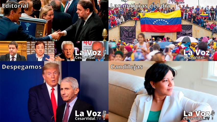 Programa Completo de La Voz de César Vidal - 18/06/21