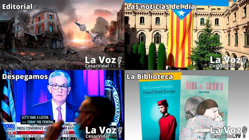 Programa Completo de La Voz de César Vidal - 23/09/21