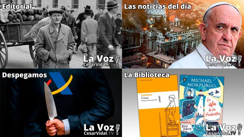 Programa Completo de La Voz de César Vidal - 14/10/21
