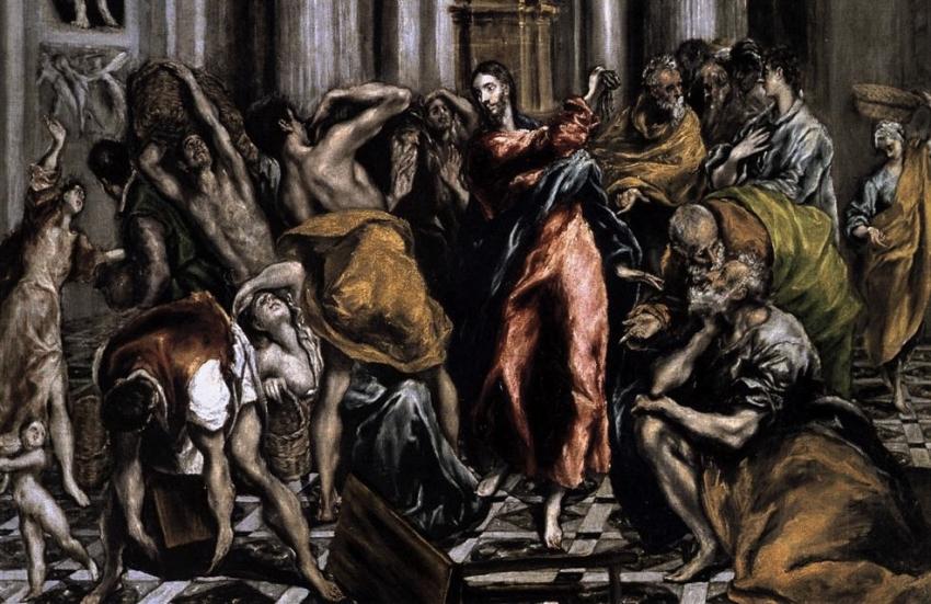 Lucas, un evangelio universal  (XLIX):  (19: 28-45-48):  La purificación del templo