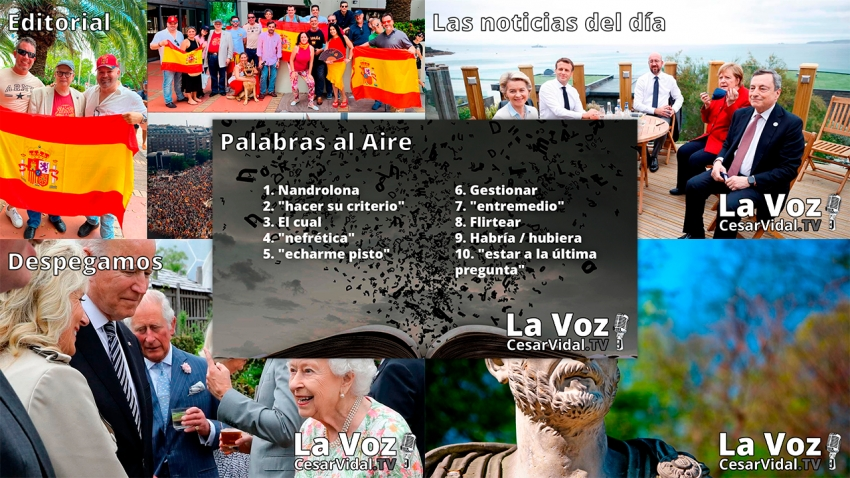 Programa Completo de La Voz de César Vidal - 14/06/21