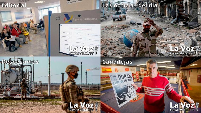 Programa Completo de La Voz de César Vidal - 26/02/21