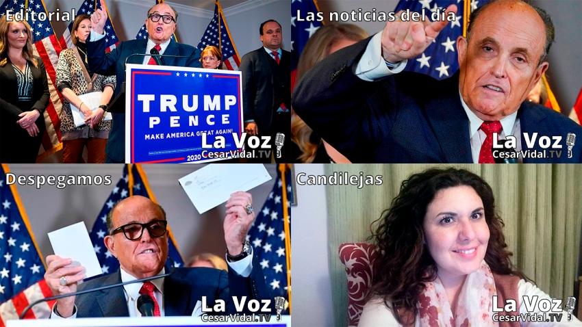 Programa Completo de La Voz de César Vidal - 20/11/20