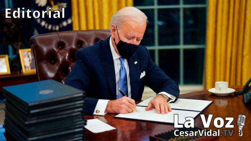 Editorial: Biden ha comenzado a gobernar - 21/01/21