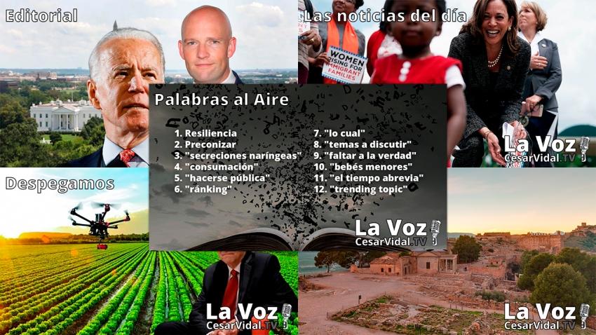 Programa Completo de La Voz de César Vidal - 18/01/21
